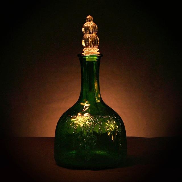 lahev s jablečným octem