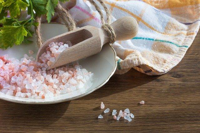 růžová sůl z himalájí
