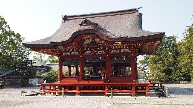 japonský domeček
