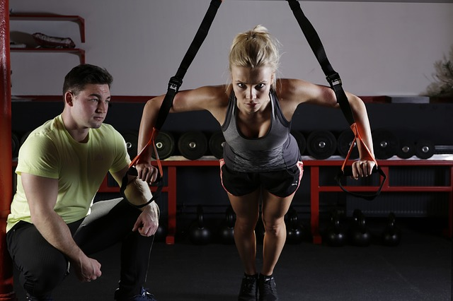 fitness trenér