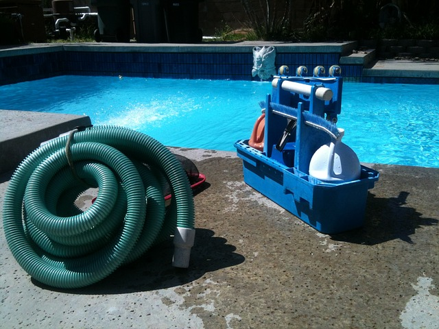 vysavač bazénu