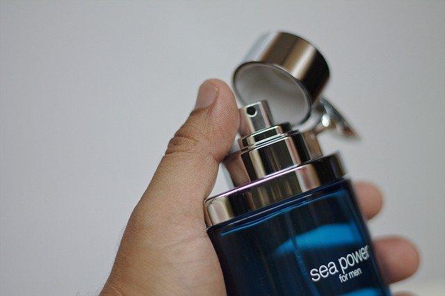 modrá lahvička
