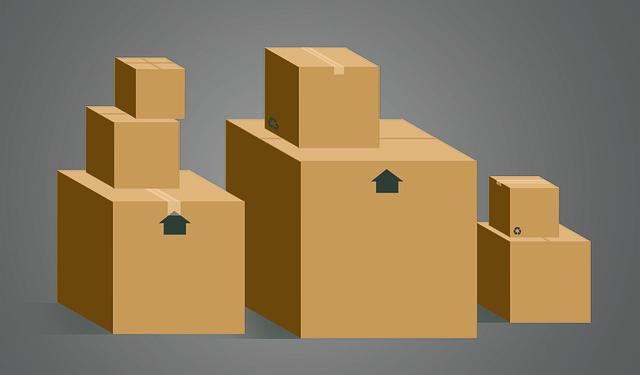 krabice ke stěhování