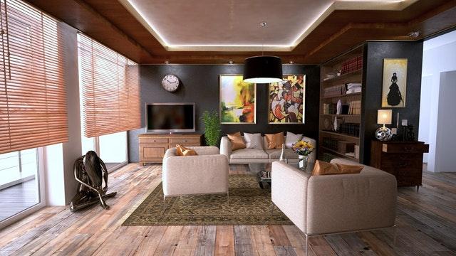vybavení bytu, obývací pokoj